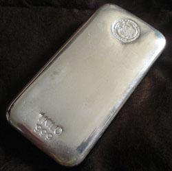 Perth Mint Silver Bar