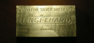 The Largest Silver Bar I Have Ever Seen On Sale In Singapore